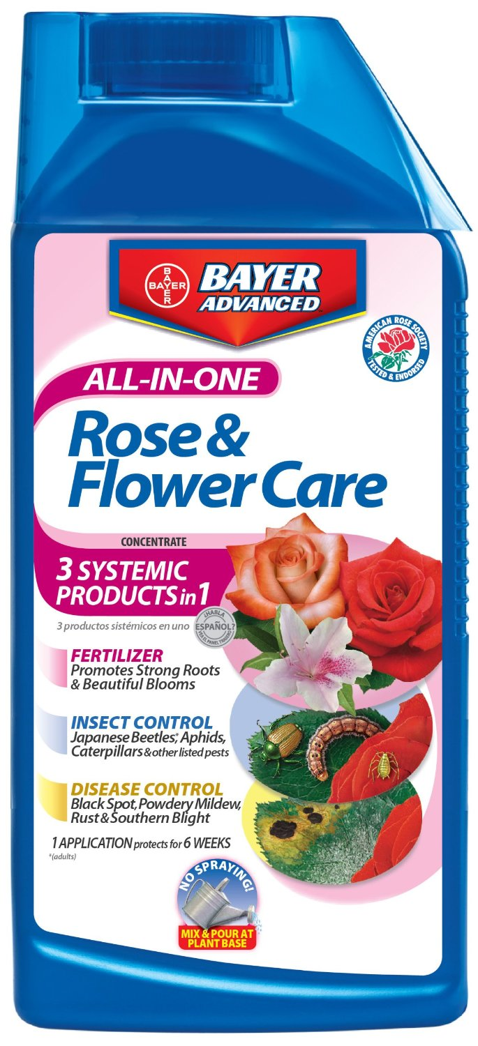 BAYER - Rose & Flower All in One Flower Care - Quart Size