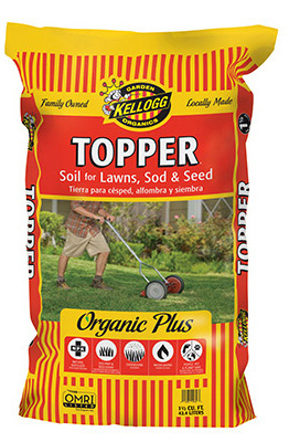 KELLOGG TOPPER Organic Sod Prep & Seed Cover (2 Cubic Ft)